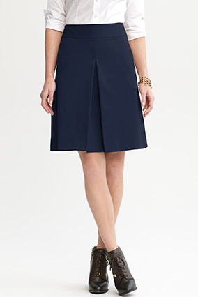 Banana Republic A-line skirt