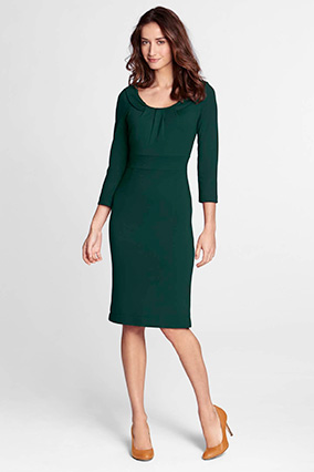 Lands' End sheath dress