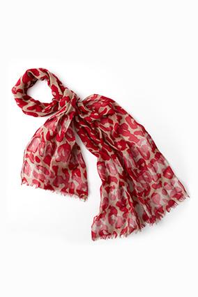 Loft cheetah scarf