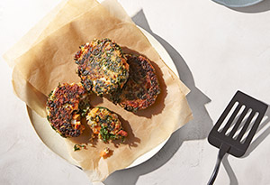 Pan-Fried Quinoa Cakes