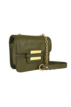 Military-inspired purse