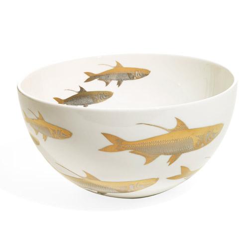 Caskata Artisanal Tableware School of Fish Serving Bowl