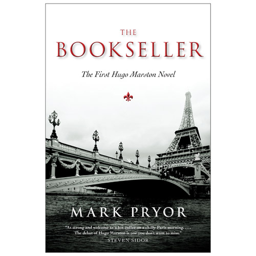 The Bookseller' ' by Mark Pryor