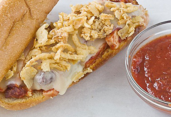 cranberry bbq turkey sandwich