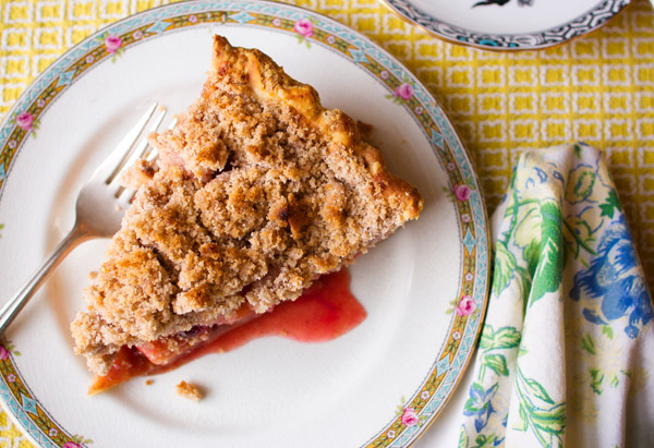 Apple-Cranberry Crumb Pie