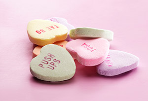 fitness candy hearts