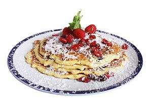 Cranberry-Coconut Pancakes