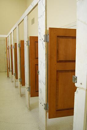 Bathroom stalls