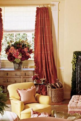 Oprah's Santa Barbara living room