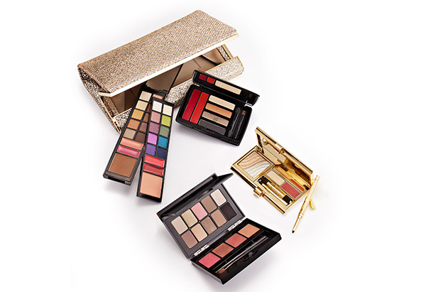 Makeup palettes and clutch