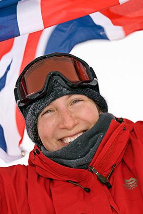 Skier Felicity Aston
