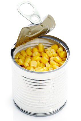 Canned corn
