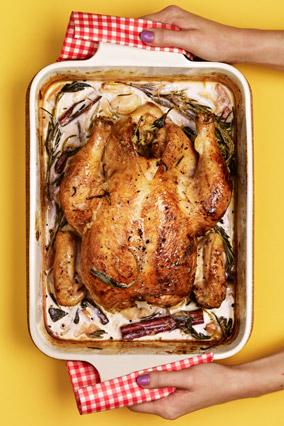 The Tastiest Roast Chicken Known to Man