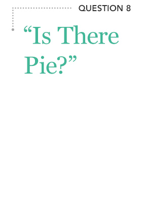 """Is There Pie?"""