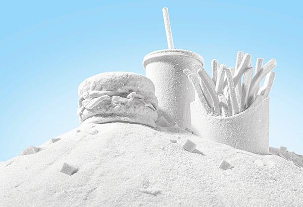 Food made of sugar