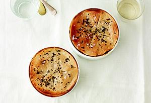 Vegetable-Barley Potpies