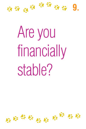 Are you financially stable?
