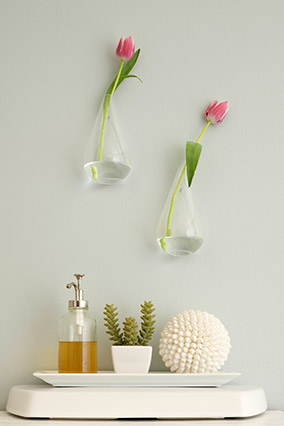 How to update your bathroom bathroom decor for Bathroom decor vases