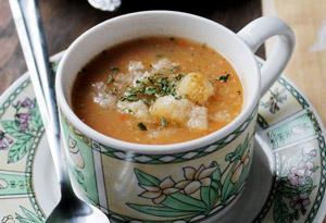 Slow Cooker Leek and Potato Soup