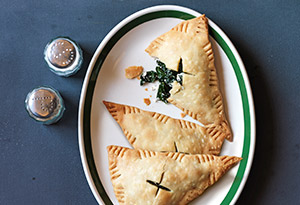 kale and goat cheese empanadas