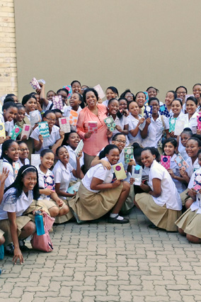 Oprah Winfrey Leadership Academy students