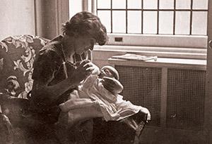 Nora Ephron's baby picture