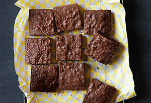 Chocolate Hazelnut Brownies Recipe