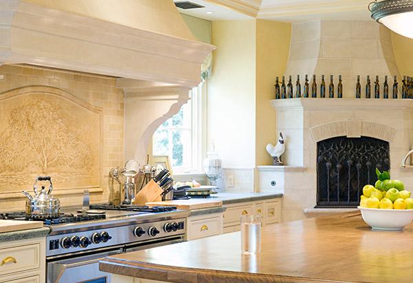 Oprah's kitchen