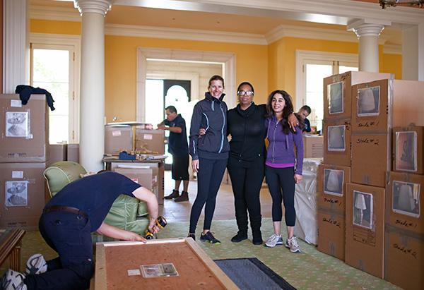 Oprah with Ashlee Mayfield and Urania Greene