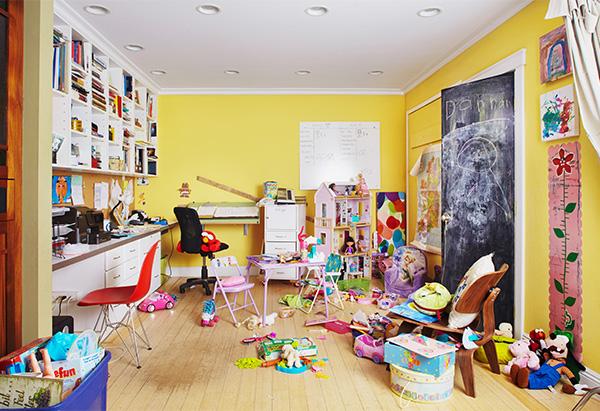 Messy Playroom