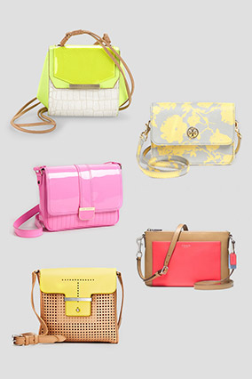 Cross-body handbags