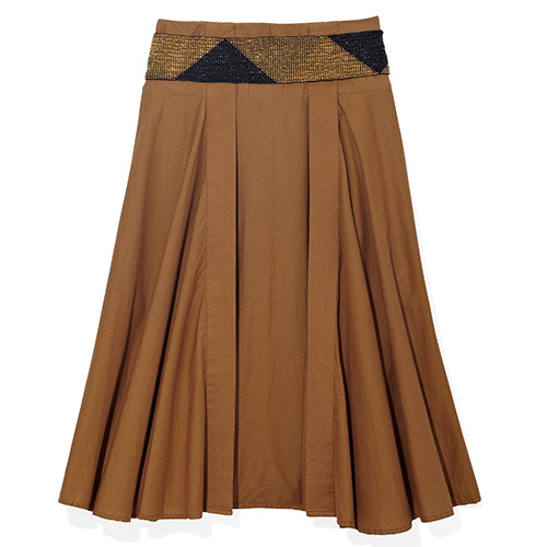 Belt and Benetton Skirt