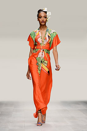 spring fashion - tropical punch