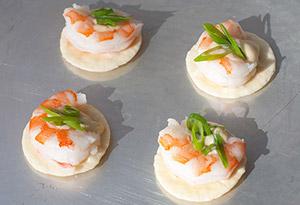 Shrimp with Wasabi Mayonnaise Recipe