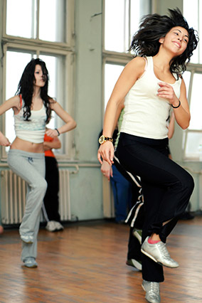 Dancing women