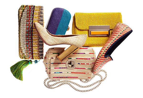 Raffia accessories