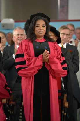 Read Oprah's Commencement Speech to Harvard University