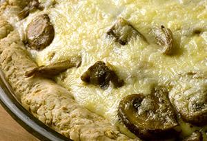 Butternut Squash and Mushroom Tart