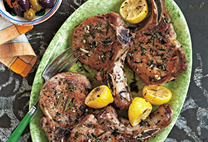 Rosemary & Oregano Pork Chops