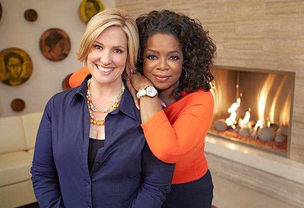 Brene Brown and Oprah Winfrey