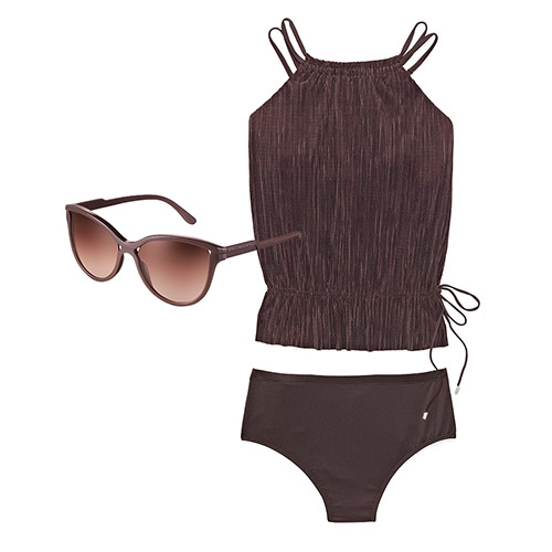 Magicsuit Tankini + Stella McCartney Sunglasses