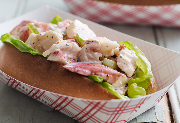 Shrimp Salad Sandwich with Red Chili Mayonnaise