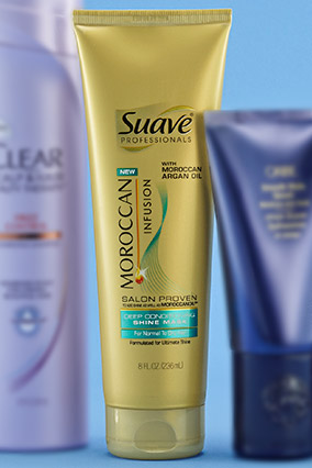 Suave Professionals Moroccan Infusion Deep Conditioning Shine Mask