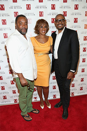 Lee Daniels, Gayle King and Forest Whitaker