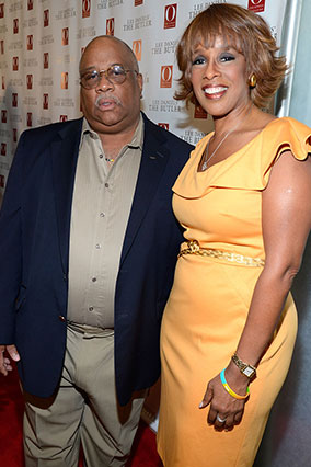 Gayle King and Charles Allen