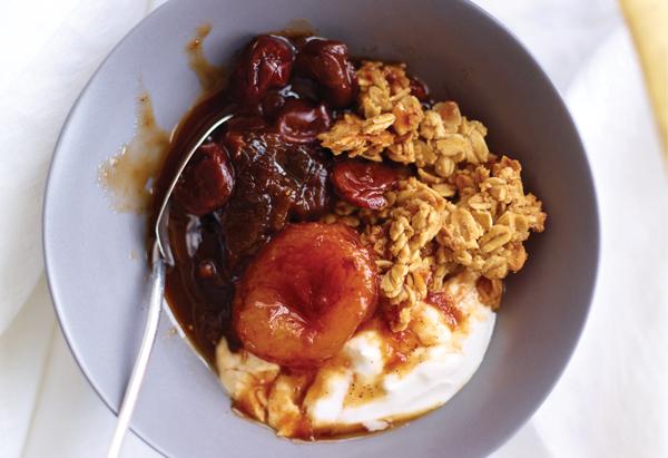 Honey-Vanilla Granola Clusters