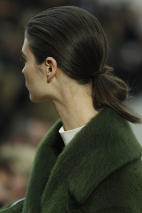 Celine ponytail
