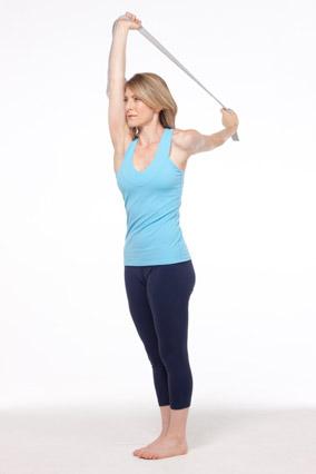 shoulder flossing