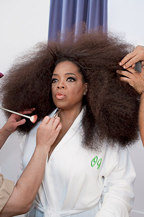 Pictures Of Oprah Winfrey Natural Hair