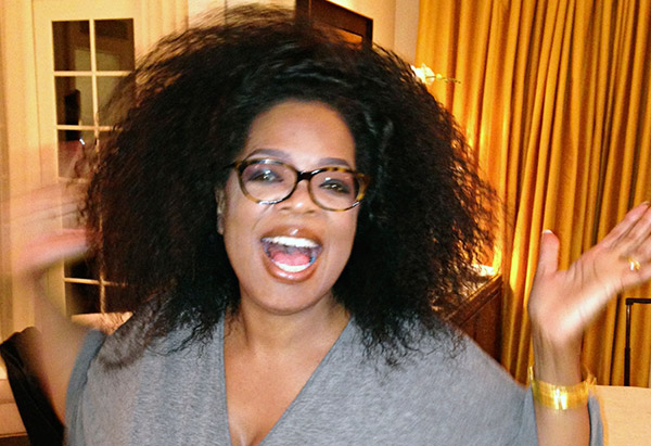 oprah and dogs